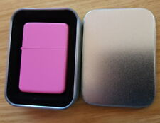 Personalised Engraved Pink Lighter in Gift Box Xmas Birthday Gift