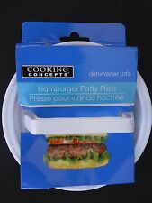 "HAMBURGER PATTY PRESS 4"" x 0.8"" Patties Dishwasher Safe"