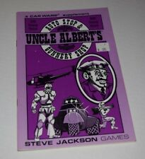Car Wars Uncle Albert's Auto Stop & Gunnery Shop 2038 Catalog VF steve jackson