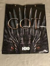 Comic-Con 2019 Game Of Thrones WB Swag Bag Backpack SDCC Exclusive Iron Throne