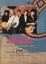 Tom Petty and The Heartbreakers Into The Great Wide Open Ad Advertisement 1991
