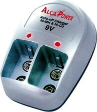 Carica Batterie da Muro Compatto per batterie tipo 9V Ni-Cd Ni-Mh  Alcapower 700