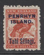 PENRHYN ISLAND SG16 1903 1/- BROWN-RED MTD MINT