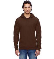 ORIGINAL American Apparel California Fleece Pullover Hoodie Sweater Brown 5495 L