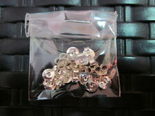 Sterling Silver 925 Earrings Butterfly Clasps DIY Jewelry Findings 10pairs pack