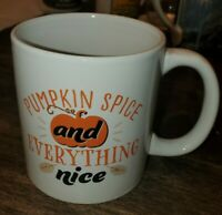 "Royal Norfolk fall/harvest ""Pumpkin Spice and Everything Nice"" coffee Mug"