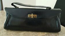 Vintage New Yorker Black Clutch Purse **Free Shipping