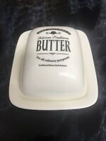 New Mrs.Applebys Ceramic Butter Dish & Lid Kitchen Gift