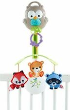 Fisher-Price Woodland Friends Mobile Musical Plays 20 minutes 3 - in-1 New