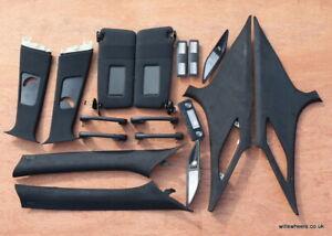 BMW E39 M Sport M5 Black Headlining Headliner Set Handles Lights Pillar Trims