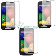 3X Pellicola protettiva trasparente display per MOTOROLA Moto E schermo