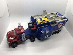 Transformers Armada Powerlinx Optimus Prime - Complete With Sparkplug **Working*