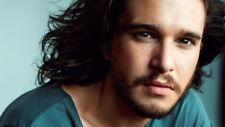 "017 Kit Hrington - Jon Snow GOT UK Actor 24""x14"" Poster"