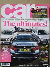 Car July 2016 BMW 2002 Turbo 3.0 CSL E30 325i M3 CSL M5 i8 Porsche 911R 918 GT4