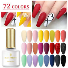 BORN PRETTY 6ml Soak Off UV Gel Nail Polish Natural Glitter Nail Art Gel Varnish