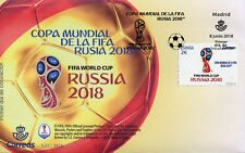Spain 2018 FDC FIFA World Cup Football Russia 2018 1v Cover Soccer Sports Stamps