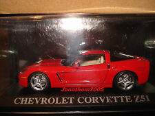 CHEVROLET CORVETTE Z51 COUPE ROUGE au 1/43°
