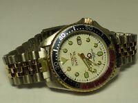 Invicta Men's Pro Diver Swiss Quartz Steel Two Tone Watch w/ Date