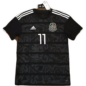 2019 Mexico Home Jersey #11 Carlos Vela Medium Gold Cup Football Soccer NEW