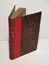 1880 Autour De La Lune by Jules Verne-Around the Moon-French Edition-1/4 Leather