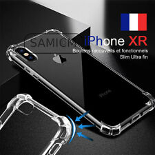 Coque Silicone iPhone XR renforcé.