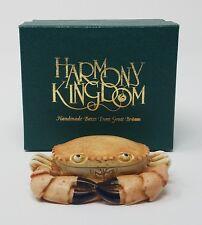 Harmony Kingdom 1996 Side Steppin Crab Figurine Nib