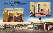 PC Lee-Jackson Service Station & Tourist Court in Winchester, Virginia~111249