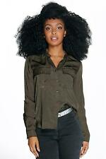 Women's Collared Petite Tops & Shirts