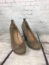 ALDO Women's Leather Beige Platform Wedges Court Shoes - Size 4.5