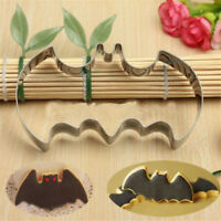 2Pc Stainless Steel Bat Shape Cutter Mold For Cake Cookie Vegetable Rice Tool FE