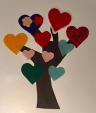 Children's Felt Story - Valentine Tree