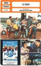 FICHE CINEMA : LE RAID - Balasko,Courbey,Deutsch,Zem,Sy,Jugnot 2002 The Race