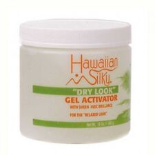 Hawaiian Silky Dry Look Gel Activator with Sheen for the Relaxed Look 16oz