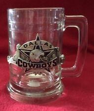 Siskiyou Pewter Dallas Cowboys 5 inch Tall Glass Mug