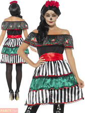 Smiffys 48077m Day of The Dead Senorita Doll Costume (medium)