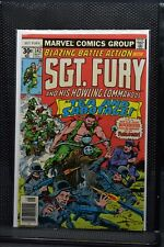 Sgt Fury and His Howling Commandos #142 Marvel 1977 Stan Lee Blazing Battle 9.0