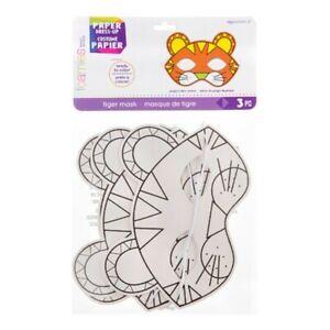 Foamies® Paper Tiger Mask: Makes 3