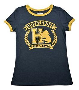 Harry Potter Juniors Hufflepuff Just And Loyal Shirt New M