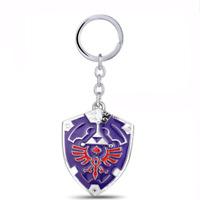 The Legend Of Zelda Wingcrest Triforce Enamel Novelty Keyring Keychain Gift Bag