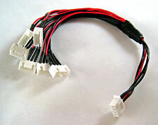 """JST-XH 10"""" 3S Parallel Balance Lead Harness Adapter (6 x JST-XH) G4"""