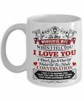 Wife Mug For Wife Gift For Wife Coffee Mug Wife Cup For Her From Husband Mug