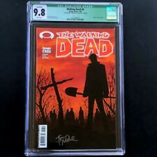 """The Walking Dead #6 💥 CGC 9.8 Qualified - Signed 💥 """"Death"""" of Jim & Shane 2004"""