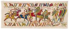 "NEW 66"" X 27"" TAPESTRY WALL HANGING REPRODUCTION OF PART OF THE BAYEUX TAPESTRY"