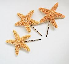 Starfish Ariel Mermaid Hair Bobby Pins Accessories Clip Nautical Hair Clip Set