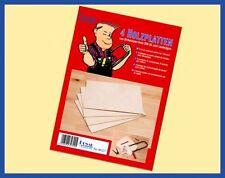 4 Laubsäge Holzplatten aus Birken (DIN A4)  Bastelholz Holz Platte 3mm