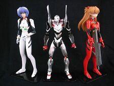 Kaiyodo Revoltech Evangelion Evolution EVA-04 Rei Asuka 3 Figure Set Loose EVA