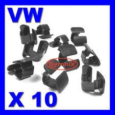 VW AUDI SEAT BONNET BOOT INSULATION LINNG TRIM CLIPS A2 A4 A6 GOLF POLO SEAT