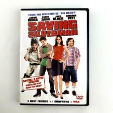 Saving Silverman Dvd 2001 Widescreen Special Rated R Jack Black Free Shipping