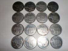 "- INDIA - 16  X  ""25 PAISE""  OLD  COINS - FULL RANGE - RARE - 1988C-2002 # 21H9"