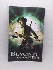 Beyond Good & Evil  Manual de instrucciones ps2 playstation 2